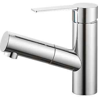 三栄水栓 シングルワンホール洗面混合栓【K47531JK-13】【K47531JK13】[新品] [SANEI] 水栓【セルフリノベーション】