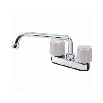 三栄水栓 ツーバルブ台付混合栓【K711K-LH-13】【K711KLH13】[新品] [SANEI] 水栓【セルフリノベーション】
