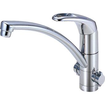 三栄水栓 シングルワンホール分岐混合栓【K8761TJK-13】【K8761TJK13】[新品] [SANEI] 水栓【セルフリノベーション】