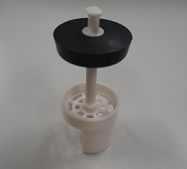 LF-FA4G-1 INAX イナックス LIXIL リクシル トイレ 希望者のみラッピング無料 ヘアーキャッチ付つまみ排水栓 水まわり部品 Φ43MM×L97MM 売り込み