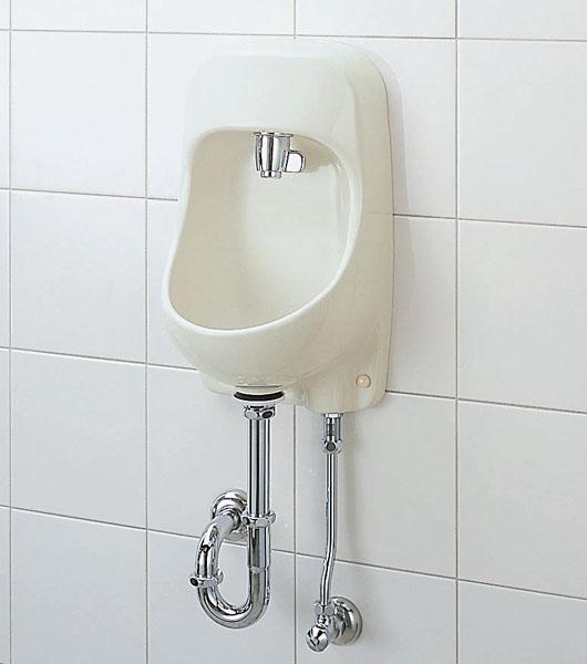 【AWL-71UA(S)】 LIXIL・リクシル トイレ用手洗い器 レバー式 壁給水・床排水 ハイパーキラミック INAX