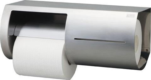 トイレットペーパーホルダー 棚付ワンタッチ式 紙巻器 (両減り防止タイプ) 【KF-66L】【KF-66R】【INAX・イナックス・LIXIL・リクシル】