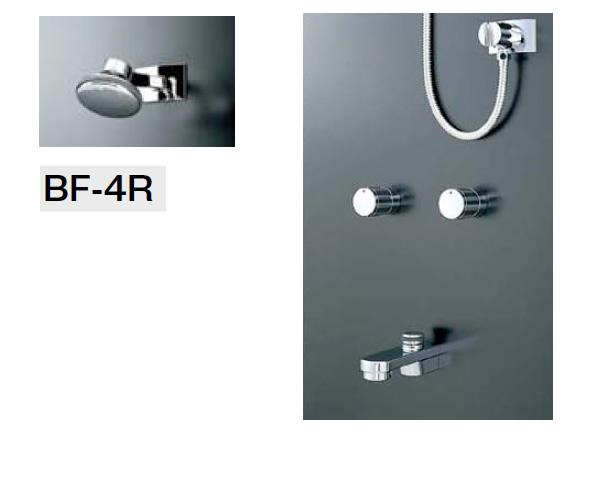 LIXIL・リクシル 水栓金具 シャワーバスセット シャワーヘッド【BF-4R】 湯水混合栓【BF-270W-13】 止水栓不要 吐水口【BF-21A-19】 INAX