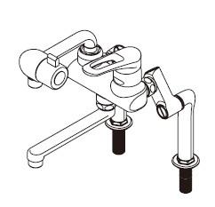 【あす楽対応】在庫1点限り 激安セール イトミック MZ-3N3P 熱湯口付混合水栓 イトミック社製 ITOMIC イトミック水栓金具 まぜまぜ P MZ-N3【HZ】