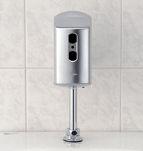 【OK-100SET】 小便器自動洗浄装置 流せるもんU 新設タイプ フラッシュバルブ内蔵 AI節水 75×128×147(乾電池式) LIXIL・リクシル INAX