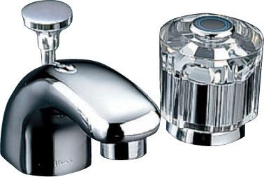 【LF-131B-GL】LIXIL・リクシル 水栓 洗面 単水栓 CR/コンビネーションタイプ セパレート 一般水栓 INAX