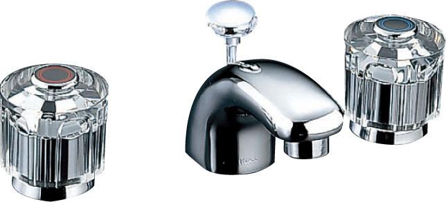 【LF-231B-GL】LIXIL・リクシル 水栓 洗面 混合水栓 CD/コンビネーションタイプ 2ハンドル 一般水栓 INAX