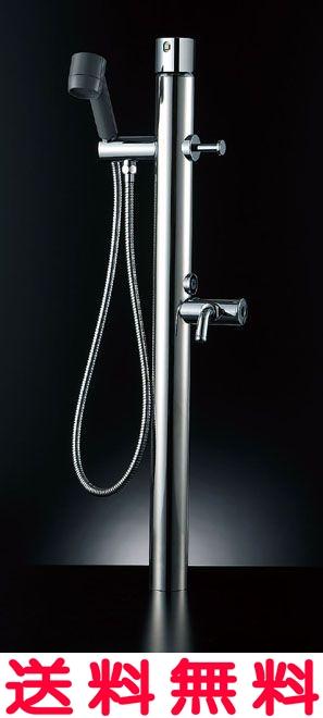 ペットも大満足!お湯が使える混合水栓仕様 【LF-932SG】 LIXIL・リクシル ペット用水栓柱 キー式ハンドル付 湯側開度規制なし INAX