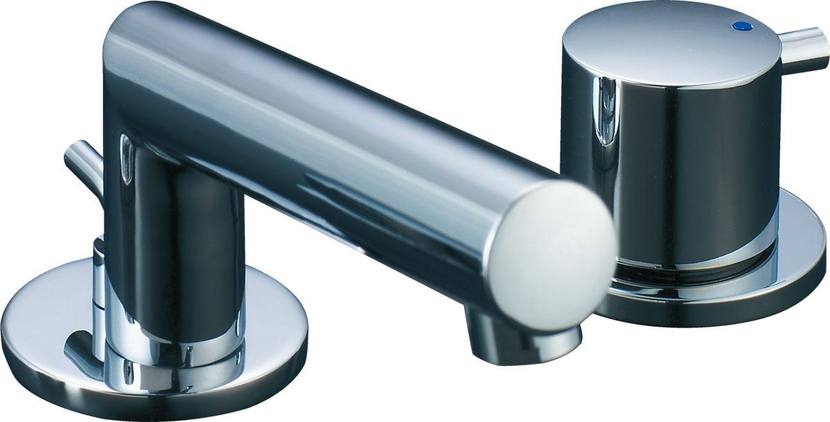 【LF-E130BR】LIXIL・リクシル 水栓 洗面 単水栓 CR/コンビネーションタイプ セパレート eモダン INAX