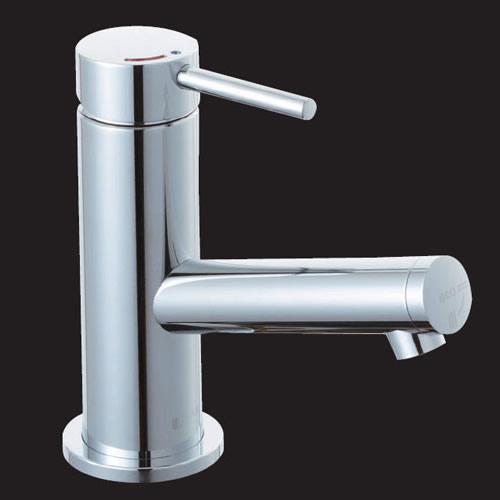 LF-E340SYCN/SE LIXIL・INAX 洗面器・手洗器用水栓金具 eモダン(エコハンドル) 排水栓なし 逆止弁 シングルレバー混合水栓 FC/ワンホールタイプ 寒冷地対応