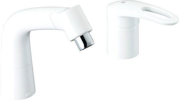 INAX LIXIL・リクシル 水栓金具 湯側開度規制付水栓金具・高温出湯防止機能付水栓金具 シングルレバー混合水栓(湯側開度規制付) LF-HX360SRNHK/BW1【LFHX360SRNHKBW1】