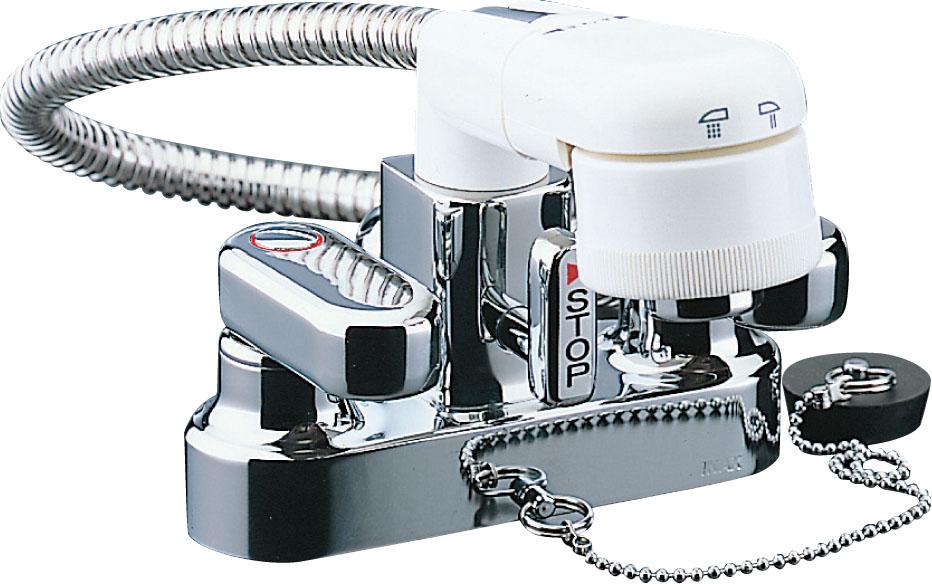 【SF-25D】INAX イナックス LIXIL・リクシル 水栓 洗面 混合水栓 EC/センターセットタイプ シングルレバー 一般水栓 2ハンドル 洗髪タイプ
