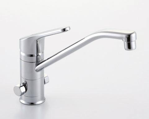【SF-HB420SYXB】INAX イナックス LIXIL・リクシル キッチン用水栓金具 ワンホールタイプ 分岐水栓 クロマーレ(エコハンドル) 【セルフリノベーション】