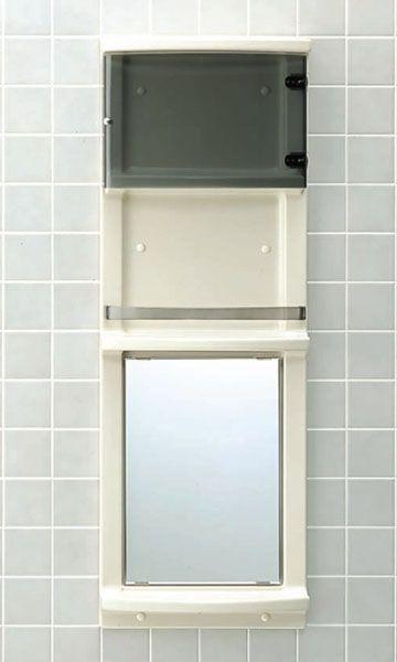 INAX イナックス LIXIL・リクシル 浴室収納棚 【YR-412GT】【せしゅるは全品送料無料】【セルフリノベーション】
