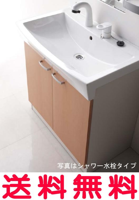 【ジャニスは全品送料無料】ジャニス Janis リフレスタンド 洗面化粧台 化粧台本体 600幅 水栓金具:シャワー【LU601RSJ】[新品] 【代引き不可】