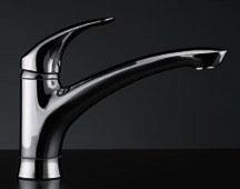 シングルレバー混合栓 【117-004】 【配管資材・水道材料】カクダイ