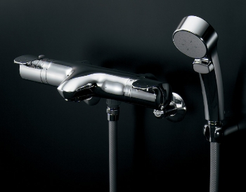 【173-231K】カクダイサーモスタットシャワー混合栓【混合水栓・浴室・水栓・ シャワー水栓】
