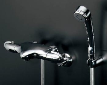 【173-236】カクダイサーモスタットシャワー混合栓【混合水栓・浴室・水栓・ シャワー水栓】