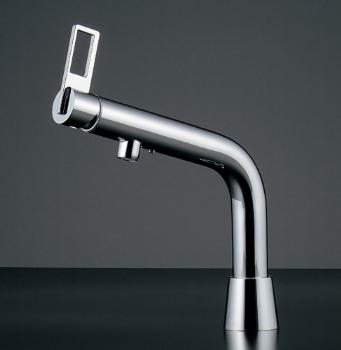 シングルレバー混合栓 【183-036K】 【配管資材・水道材料】カクダイ