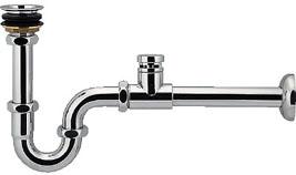 低位通気弁つきPトラップ(オーバーフローなし手洗器用) 【423-821-25】 【配管資材・水道材料】カクダイ