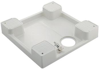 洗濯機用防水パン(水栓つき) 【426-501K】 【配管資材・水道材料】カクダイ