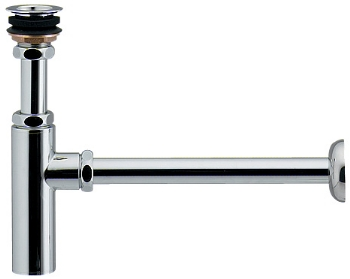 ボトルトラップユニット(オーバーフローなし手洗器用) 【433-120-25】 【配管資材・水道材料】カクダイ