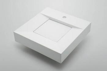 角型手洗器//3面化粧 【493-074-400】 【配管資材・水道材料】カクダイ