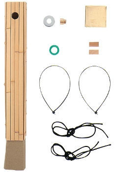 70角水栓柱用化粧カバー(竹) 【624-131】 【配管資材・水道材料】カクダイ