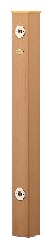 水栓柱(樹脂木) 【624-162】 【配管資材・水道材料】カクダイ