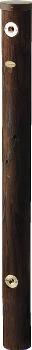 エコ水栓柱(焼丸太) 【6242-1200】 【配管資材・水道材料】カクダイ