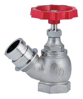 散水栓 45° 【652-710-65】 【配管資材・水道材料】カクダイ