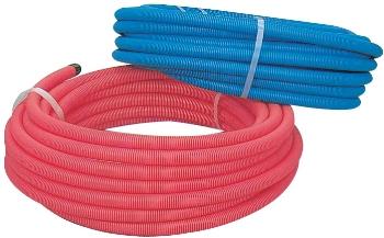 サヤ管(青) 30 【672-154-30B】 【配管資材・水道材料】カクダイ