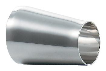 溶接偏芯レデューサー//2.5S×1.5S 【691-23-EXC】 【配管資材・水道材料】カクダイ