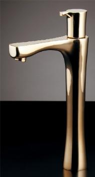 立水栓//トール、ゴールド 【716-861-13】 【配管資材・水道材料】カクダイ