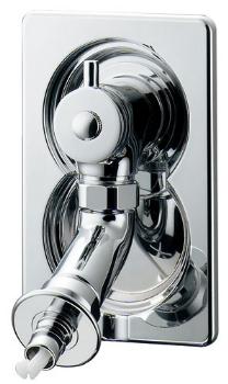 洗濯機用水栓 【731-010】 【配管資材・水道材料】カクダイ