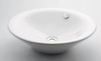 丸型洗面器 【#DU-0408530000】 【配管資材・水道材料】カクダイ