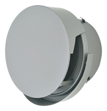 【AT-175TCNSJD4】 メルコエアテック 外壁用(ステンレス製) 丸形防風板付ベントキャップ(覆い付・ワイド水切タイプ)|網 【AT175TCNSJD4】[新品] 【代引き不可】