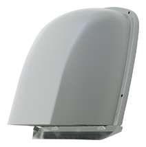 【AT-200FGS4SO】 メルコエアテック 外壁用(ステンレス製) 深形フード(パイプガイドなし)|縦ギャラリ 【AT200FGS4SO】[新品] 【代引き不可】