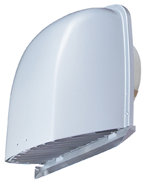 【AT-200FWA4】 メルコエアテック 外壁用(アルミ製) 深形フード(ワイド水切タイプ)|縦ギャラリ・網 【AT200FWA4】[新品] 【代引き不可】