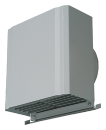 【AT-200HGSD】 メルコエアテック 外壁用(ステンレス製) 深形スクエアフード|横ギャラリ 【AT200HGSD】[新品] 【代引き不可】