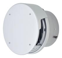 【送料無料】【AT-200TCGAD】 メルコエアテック 外壁用(アルミ製) 丸形防風板付ベントキャップ(覆い付)|縦ギャラリ 【AT200TCGAD】[新品]【代引き不可】