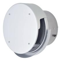 【送料無料】【AT-200TCNAJD】 メルコエアテック 外壁用(アルミ製) 丸形防風板付ベントキャップ(覆い付・ワイド水切タイプ)|網 【AT200TCNAJD】[新品]【代引き不可】