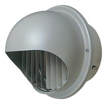 【AT-250MGSD5】 メルコエアテック 外壁用(ステンレス製) 丸形フード|縦ギャラリ 【AT250MGSD5】[新品] 【代引き不可】