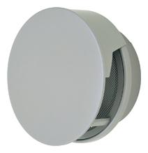 【AT-250TCNS】 メルコエアテック 外壁用(ステンレス製) 丸形防風板付ベントキャップ(覆い付)|網 【AT250TCNS】[新品]【代引き不可】