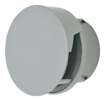 【AT-300TCNSD】 メルコエアテック 外壁用(ステンレス製) 丸形防風板付ベントキャップ(覆い付) 網 【AT300TCNSD】[新品] 【送料込み】【代引き不可】