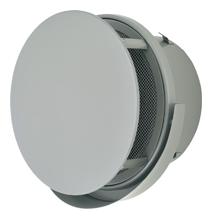 【AT-300TUNSJD】 メルコエアテック 外壁用(ステンレス製) 丸形防風板付ベントキャップ(ワイド水切タイプ)|網 【AT300TUNSJD】[新品] 【代引き不可】
