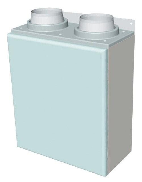 三菱 換気扇 ロスナイセントラル換気システム システム部材 100mm壁掛型フィルターボックス 【P-100FBK】