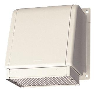 三菱 換気扇 有圧換気扇システム部材 風圧シャッター付ウェザーカバー SHW-25TDB-C 【せしゅるは全品送料無料】【セルフリノベーション】