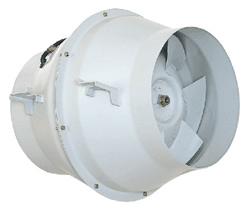 三菱 換気扇 有圧換気扇 産業用換気送風機【JE-15S3】斜流ダクトファン 標準形