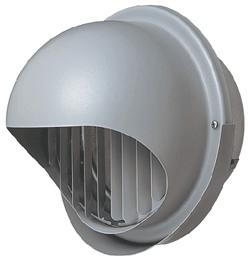 【P-23KFSQ5】丸形フード<ステンレス製・高性能> ギャラリ付・防虫網付三菱 換気扇 部材 システム部材